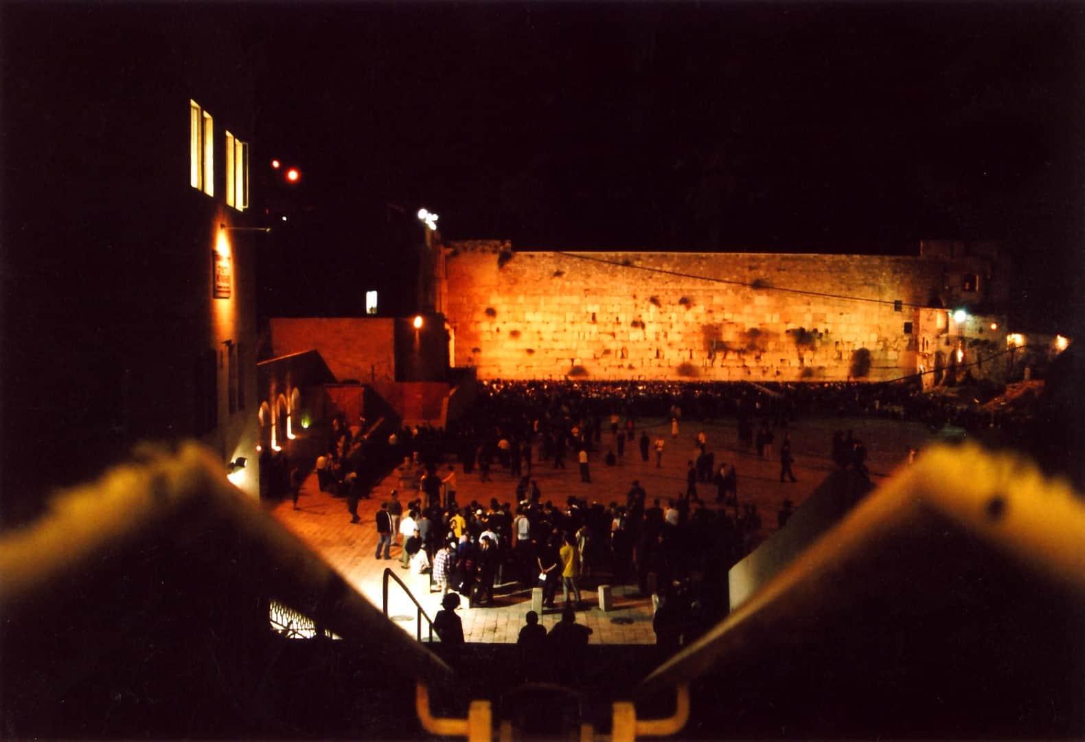 כותל מערבי - צילום משה אסולין