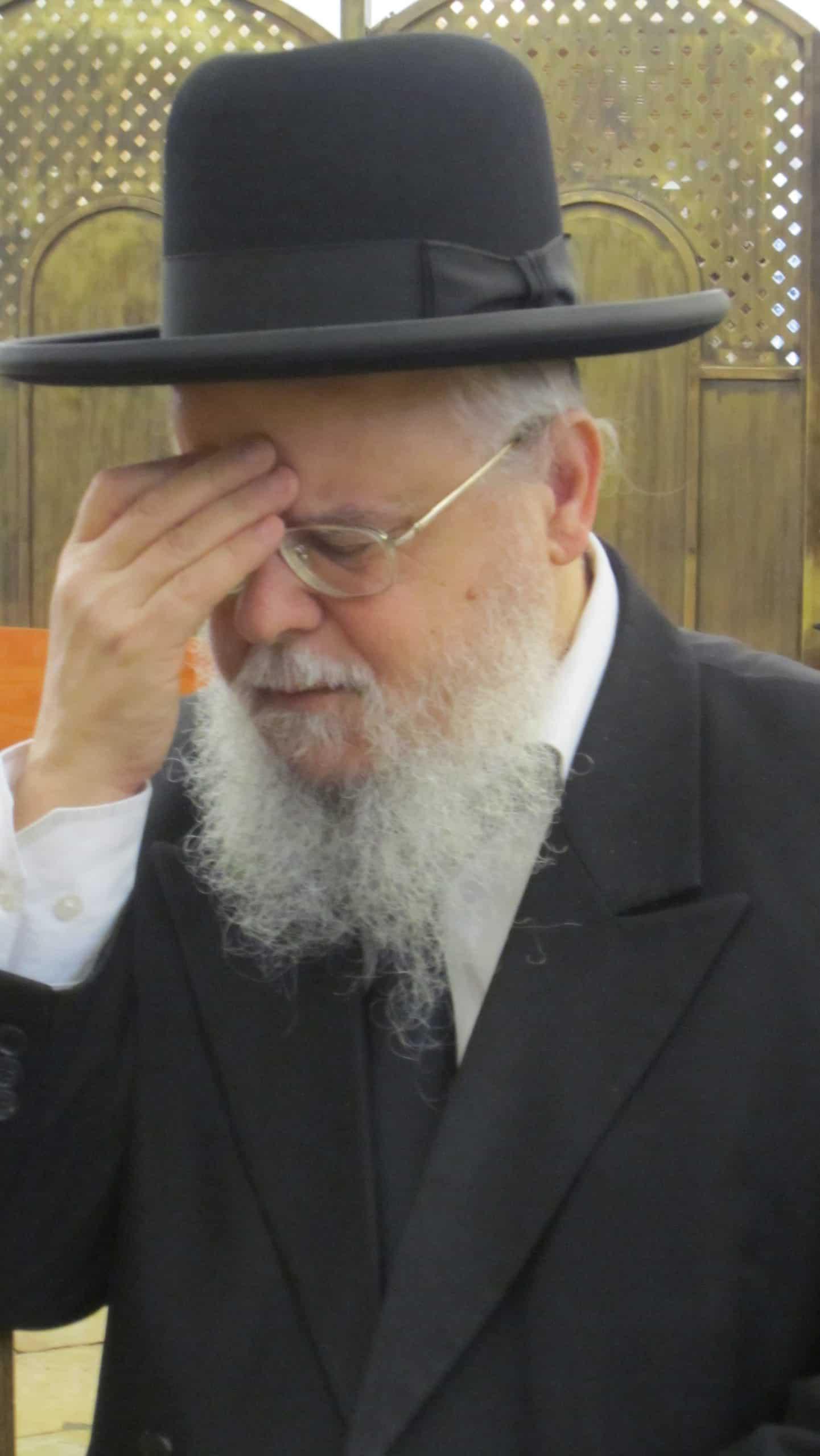 הרב יהושע ברכץ קורונה וירוס