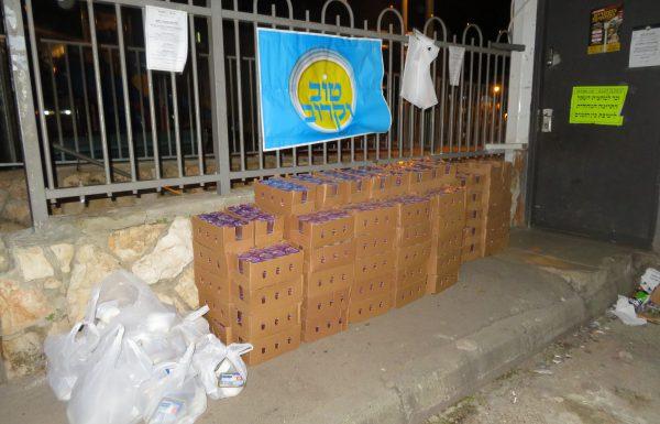 התרחבות בפעילות החסד בקרב קהילות ה'איגוד' בירושלים